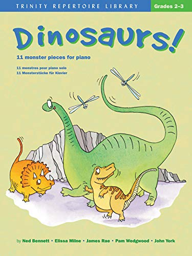 9780571522422: Dinosaurs!: 11 Monster Pieces for Piano (Faber Edition)