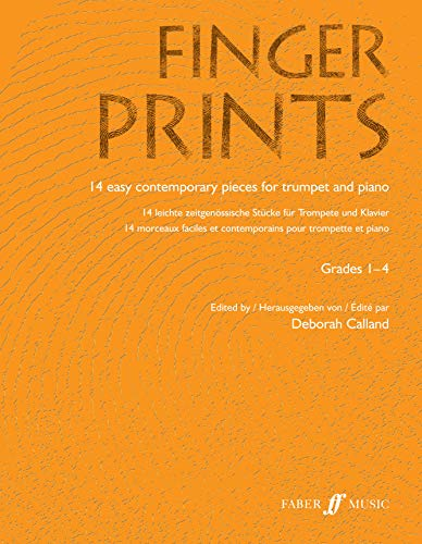 9780571522569: Fingerprints for Trumpet and Piano: Grade 1-4 (Faber Edition: Fingerprints)