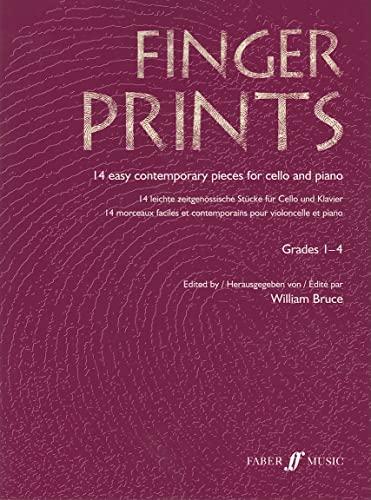 9780571522972: Fingerprints, Cello and Piano, Grades 1-4