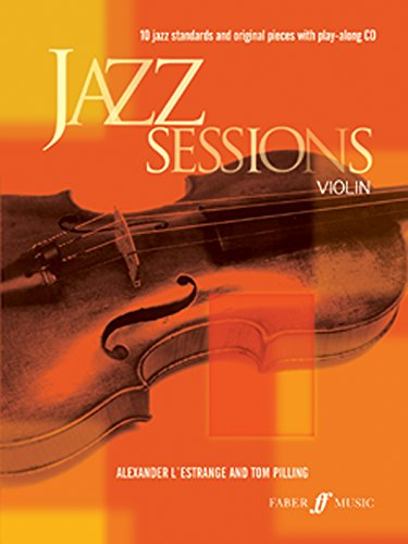 9780571523054: Jazz Sessions for Violin (Book & CD) (Faber Edition: Jazz Sessions)