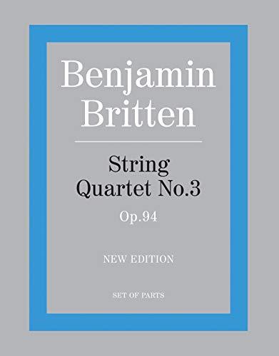 9780571523092: String Quartet No. 3: Parts (Faber Edition)