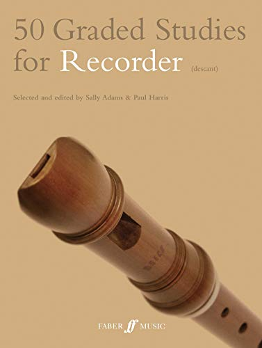 9780571523184: 50 Graded Studies for Recorder (Faber Edition)