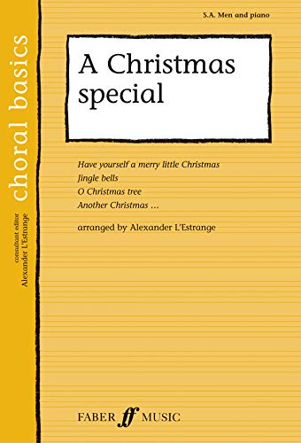 9780571523481: A Christmas Special (Faber Edition: Choral Basics)