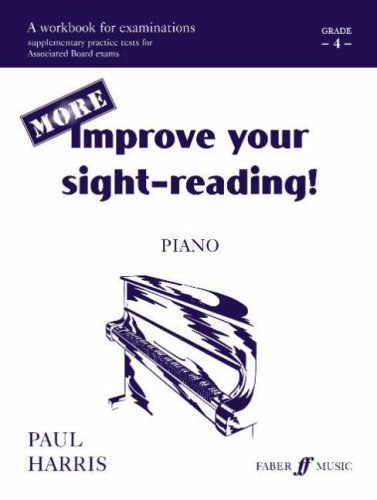 More Improve Your Sight-reading! Piano: Grade 4 / Early Intermediate (Faber Edition): Harris, ...