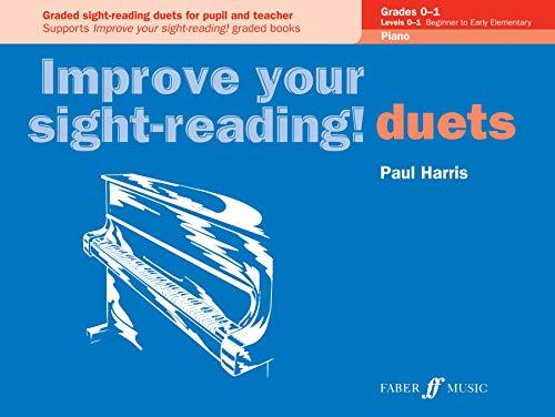 9780571524051: Improve Your Sight-Reading! Piano Duet, Grades 0-1