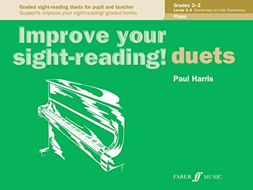 9780571524068: Improve Your Sight-reading! Piano Duet, Grade 2-3: Graded Sight-reading Duets for Pupil and Teacher (Faber Edition: Improve Your Sight-reading)