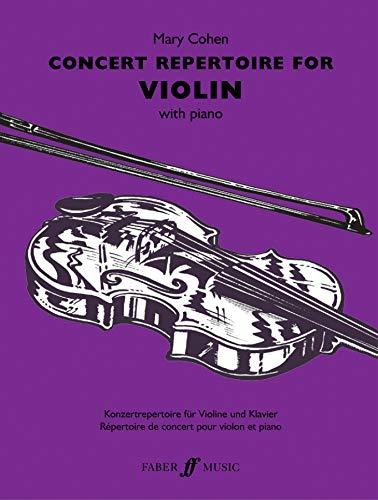 9780571524402: Concert Repertoire for Violin