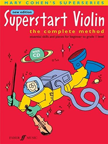 9780571524426: Superstart Violin: The Complete Method (Book & CD) (Faber Edition: Superstart)
