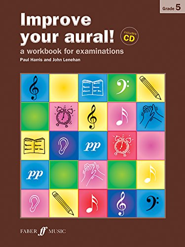 9780571524594: Improve Your Aural! Grade 5: A Workbook for Examinations (Book & CD) (Faber Edition: Improve Your Aural!)