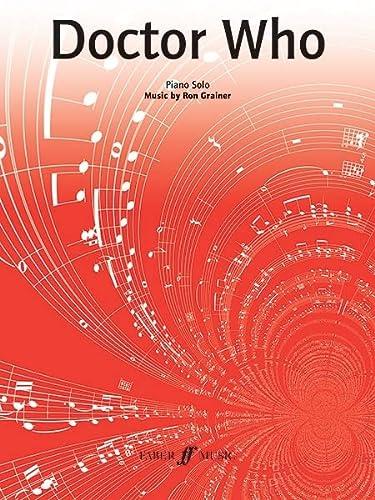 Doctor Who Theme (Piano Solo) (Paperback): Ron Grainer
