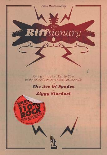 9780571525218: The Rifftionary: (Chord Songbook)