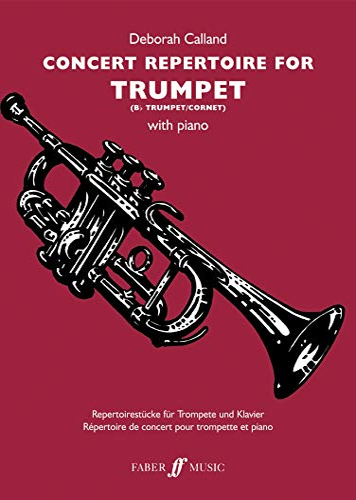 9780571525430: Concert Repertoire for Trumpet (Faber Edition: Concert Repertoire)