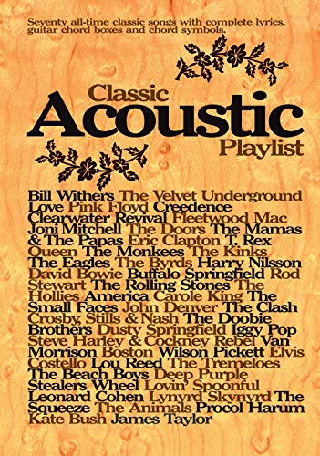 9780571525713: Classic Acoustic Playlist: (Chord Songbook) (Chord Songbooks)