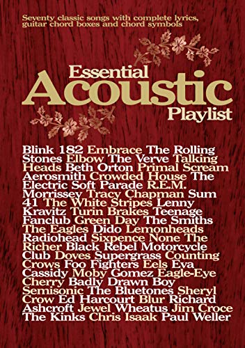 9780571525720: Essential Acoustic Playlist: (Guitar) (Chord Songbook)