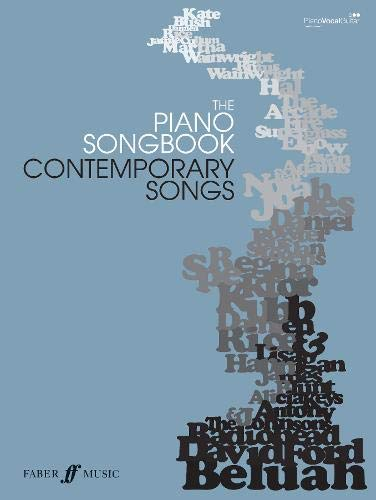 9780571525812: Piano Songbook: Contemporary Songs: (Piano/vocal/guitar) (Pocket Songbooks)