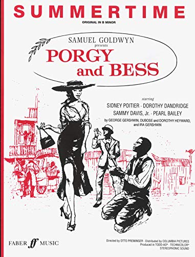 9780571526024: Summertime (from Porgy and Bess): Piano/Vocal, Sheet (Faber Edition)