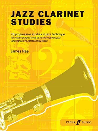 9780571526468: Jazz Clarinet Studies