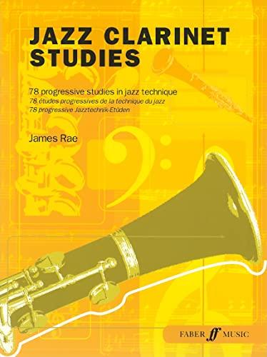 9780571526468: Jazz Clarinet Studies