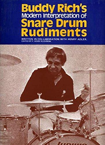 9780571526543: Buddy Rich's Interpretation of Snare Drum Rudiments