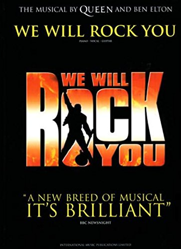 9780571527243: WE WILL ROCK YOU THE MUSICAL: (Vocal Selection) (Vocal Selections)