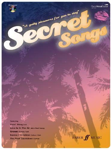 9780571527601: Secret Songs: 18 Guilty Pleasures Music Book with CD