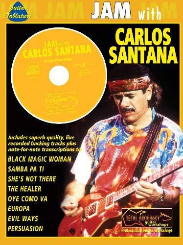 9780571528295: JAM WITH SANTANA CARLOS + CD: (Guitar Tab) (Jam With The Guitar Greats)