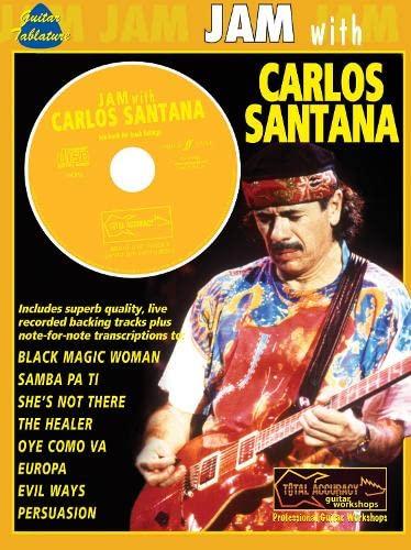 9780571528295: Jam With Carlos Santana: (Guitar Tab)
