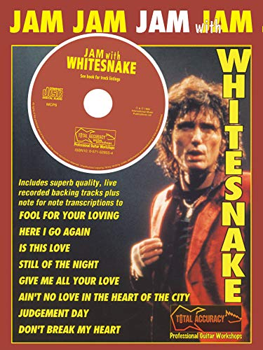 9780571528554: Jam With Whitesnake Book & CD