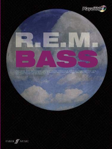 9780571529308: R.E.M. Authentic Playalong Bass (Bass/CD) (Paperback): WITH Soundalike Backing CD