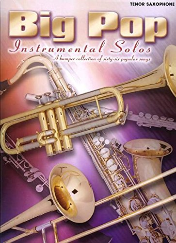 9780571529377: Big Pop Instrumental Solos for Tenor Saxophone (Faber Edition)