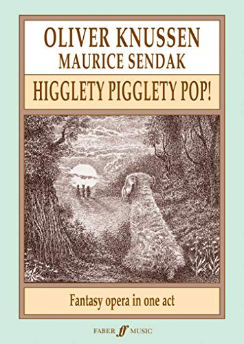Higglety Pigglety Pop!: Fantasy Opera in One Act, Score (Paperback)