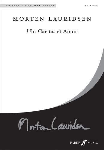 9780571529612: Ubi Caritas Et Amor