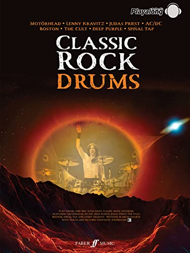 9780571529926: Classic Rock Drums: 8 Monstrous Rock Classics Arranged for Drums with Fantastic Soundalike CD (Authe