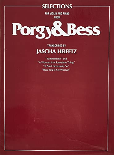 9780571530854: PORGY AND BESS VNP: (Violin, Piano)