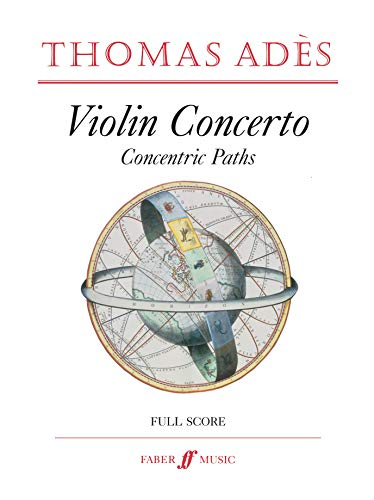 9780571531059: Violin Concerto: Concentric Paths (Full Score), Score (Faber Edition)