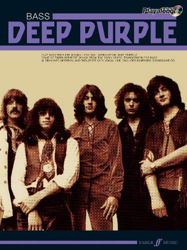 9780571531325: Deep Purple Authentic Playalong Bass: Bass Guitar Songbook