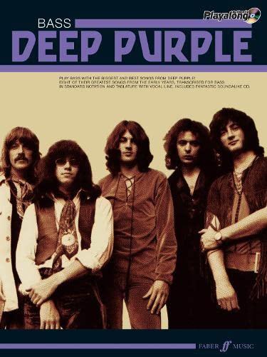 9780571531325: Deep Purple Authentic Playalong Bass
