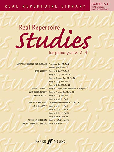 9780571531394: Real Repertoire Studies for Piano Grades 2-4: Elementary to Early Intermediate (Faber Edition: Trinity Repertoire Library)