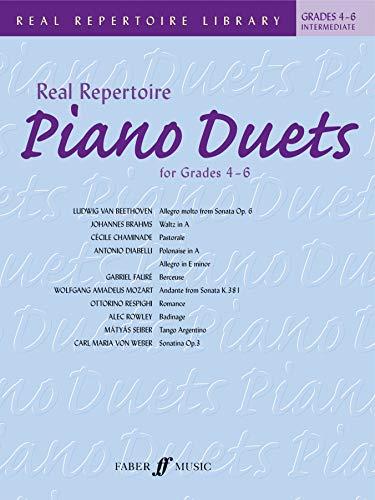 9780571531400: Real Repertoire Piano Duets: Grades 4-6 / Early Intermediate to Late Intermediate (Faber Edition: Trinity Repertoire Library)