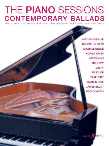 9780571532599: Contemporary Ballads: (Piano, Vocal, Guitar) (Piano Sessions)