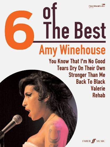 9780571532803: 6 OF THE BEST AMY WINEHOUSE: (Piano, Vocal, Guitar) (Six of the Best)