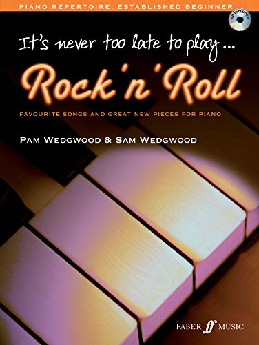 9780571533718: It's Never Too Late To Play Rock N' Roll: Piano Solo