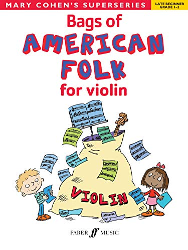 9780571534166: Bags of American Folk for Violin (Faber Edition: Bags Of)