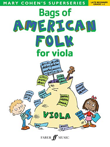 9780571534173: Bags of American Folk for Viola