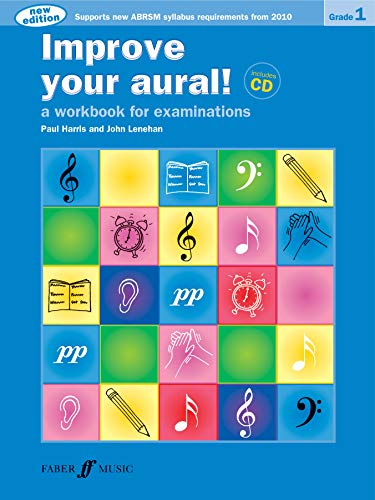 9780571534388: Improve Your Aural! Grade 1: A Workbook for Examinations, Book & CD (Faber Edition: Improve Your Aural!)
