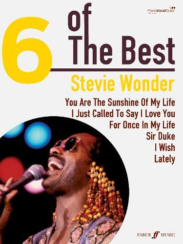 9780571534456: Stevie Wonder: (Piano, Vocal, Guitar) (Six of the Best)