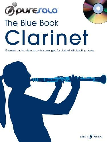 9780571535156: Pure Solo: The Blue Book: Clarinet/CD