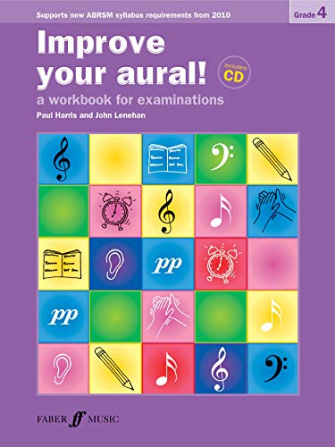 9780571535453: Improve Your Aural! Grade 4: A Workbook for Examinations, Book & CD (Faber Edition: Improve Your Aural!)
