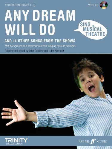 9780571535552: Any Dream Will Do Book & CD (Sing Musical Theatre)