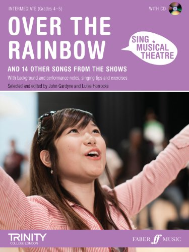 9780571535576: Over the Rainbow Book & CD (Sing Musical Theatre)